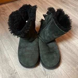 black bailey bow short ugg boots